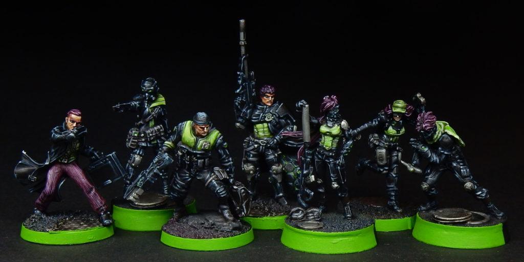 Infinity Mercenaries VII