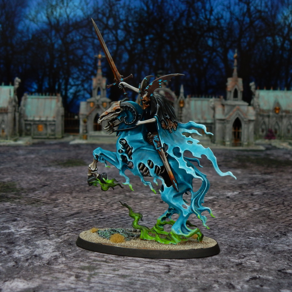 Nighthaunt Knight of Shrouds on Ethereal Steed